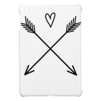 Herzen u. Pfeile iPad Mini Hülle
