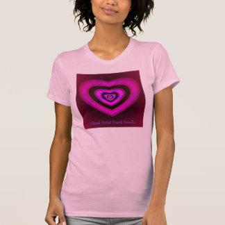 Herzen (visueller Künstler-Frank Bonilla über T-Shirt