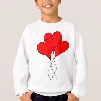 Herzherzen Valentine-Ehefrau-Schatzfreundin Sweatshirt