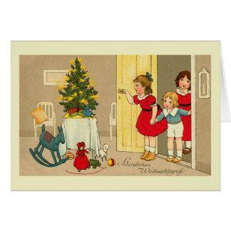 """""""Herzlichen Weihnachtsgruss"""" Weihnachtskarte Karte"""