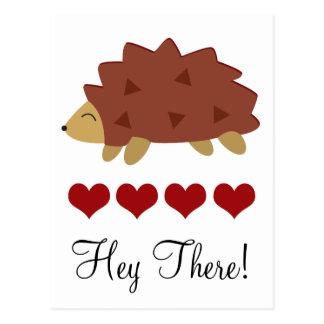 Herzlicher Igel Postkarte