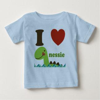 Herznessie-Baby-T-Shirt Loch- Nessmonster-I Baby T-shirt