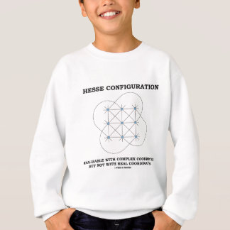Hessen-Konfiguration (Geometrie) Sweatshirt