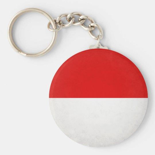 Hessen Standard Runder Schlüsselanhänger