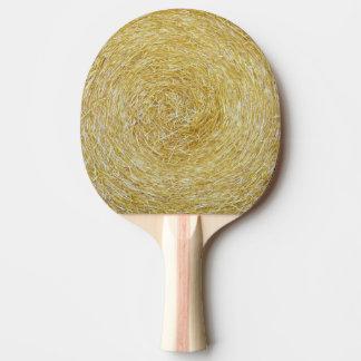 Heu-Hintergrund - Klingeln Pong Paddel Tischtennis Schläger