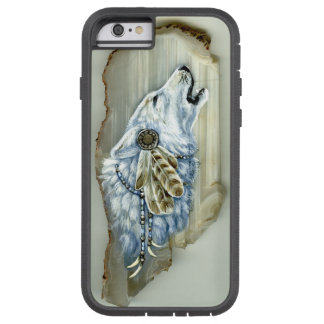 Heulenweißer Wolf Tough Xtreme iPhone 6 Hülle