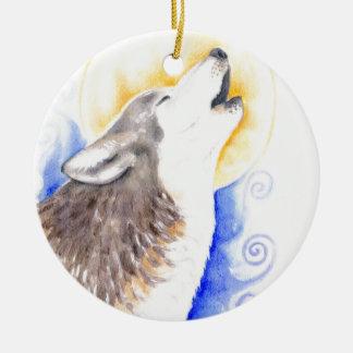 Heulenwolf Keramik Ornament