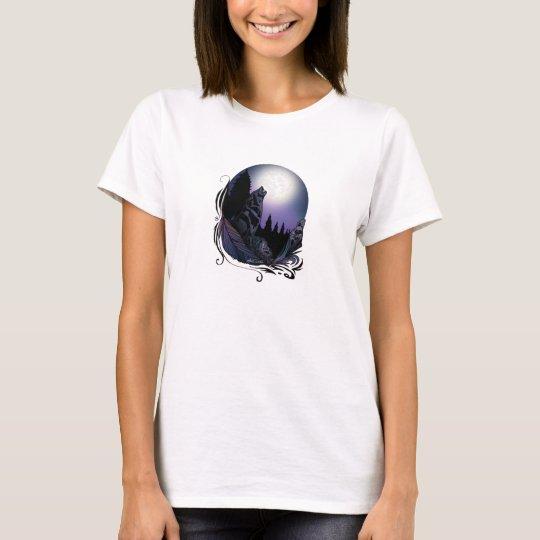 Heulenwolf (Unterzeichnungs-Entwurf) T-Shirt