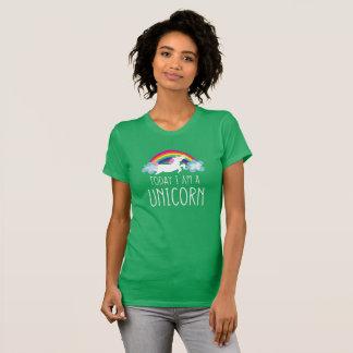 Heute bin ich ein Einhorn T-Shirt