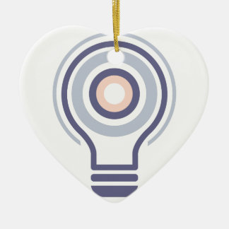 Hexahedrons innerhalb Ideen-Birnen-der abstrakten Keramik Ornament