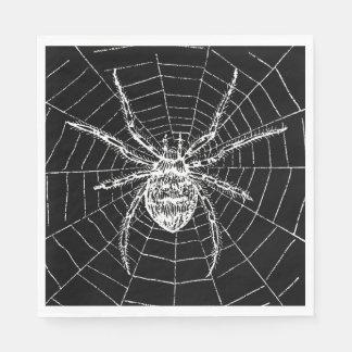 Hexe-Ball-Spinnen-Servietten Serviette