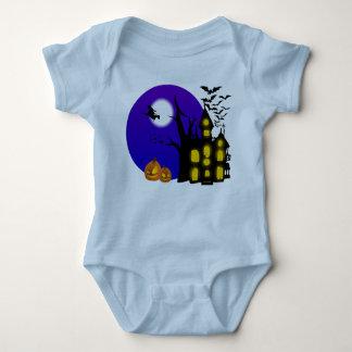 Hexe-Haus-Baby-Jersey-Bodysuit Baby Strampler