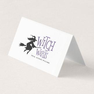 Hexe-Warze-Halloween-Süßigkeits-Taschen-Deckel Platzkarte