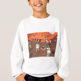 Hexe-Wäsche-Tag Sweatshirt