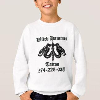 Hexehammertätowierung b/b t sweatshirt