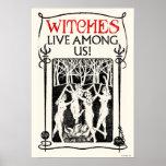 Hexen leben unter uns poster