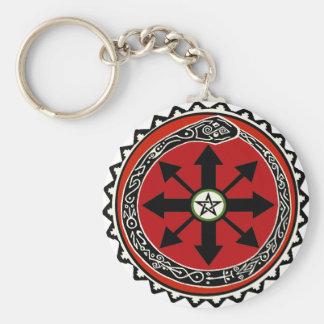 Hexerei-Symbol für Chaos Schlüsselanhänger