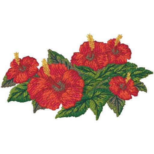 Hibicus Blumenstrauß Jacken