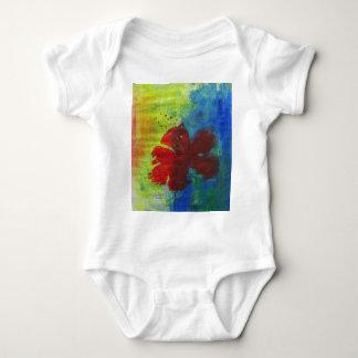 Hibiskus Baby Strampler