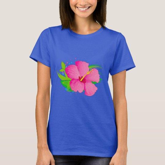 Hibiskus-Blume T-Shirt