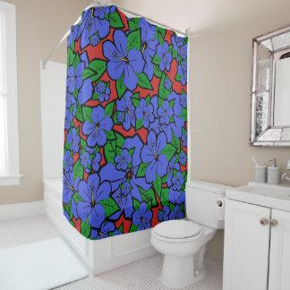 Hibiskus-Blumen #2 Duschvorhang