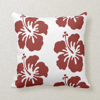 Hibiskus-Blumen-Muster-Kissen-Wohngestaltung Kissen