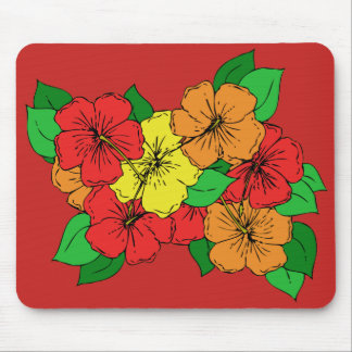 Hibiskus-Blumen ROY Mousepads