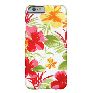 Hibiskus-Blumenfiesta iPhone 6 Fall Barely There iPhone 6 Hülle