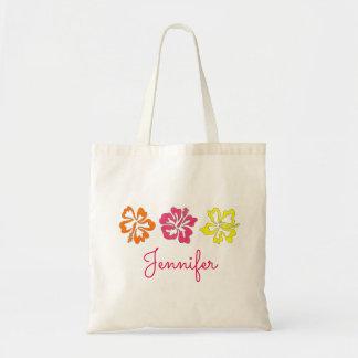 Hibiskus-Garten-BlumenBlumen-Tasche Tragetasche