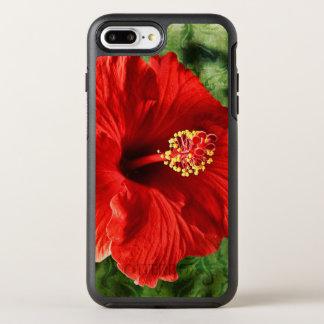 Hibiskus OtterBox Symmetry iPhone 8 Plus/7 Plus Hülle