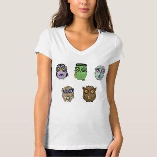 Hiboux de monstre t-shirt