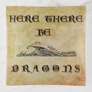 Hier gibt es Drachen Dekoschale