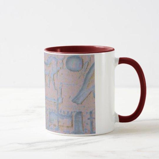 Hieroglyphen-Tasse Tasse