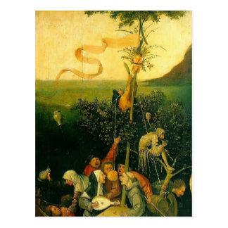Hieronymus Bosch- das Schiff der Dummköpfe Postkarte