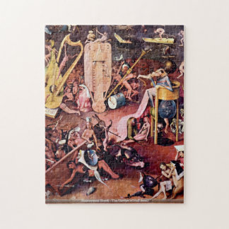 Hieronymus Bosch - der Garten des Höllendetails PU