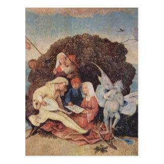 Hieronymus Bosch- Haywain (Detail) Postkarte
