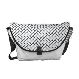 Higaki japanische Muster-Bote-Tasche Kuriertaschen