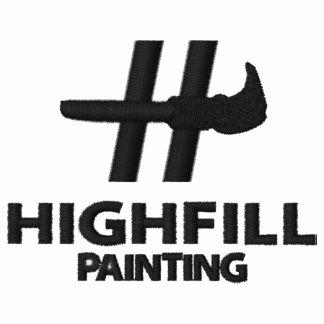 Highfill Malerei gesticktes Shirt