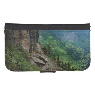 Highline HinterGlacier Nationalpark Montana Geldbeutel Hülle Für Das Samsung Galaxy S4