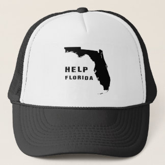 Hilfe Florida nach Hurrikan Irma Truckerkappe