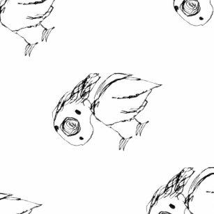 Kleine Vogelskizze