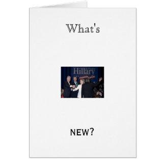 Hillary 20Clinton-JTM-023663 was ist neu Grußkarten