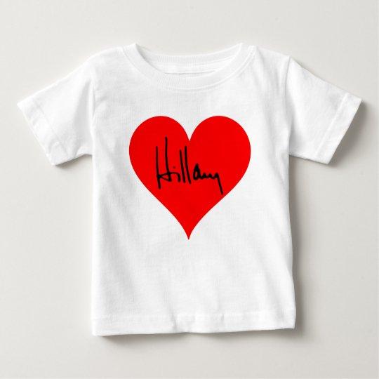 """""""Hillary """" Baby T-shirt"""