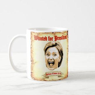 Hillary Clinton 2016 gewollt für Präsidentenbecher Kaffeetasse