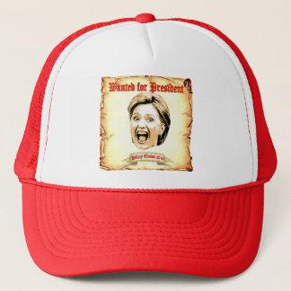 Hillary Clinton 2016 gewollt für Präsidentenhut Truckerkappe