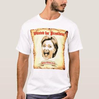 Hillary Clinton 2016 gewollt für T-Shirt