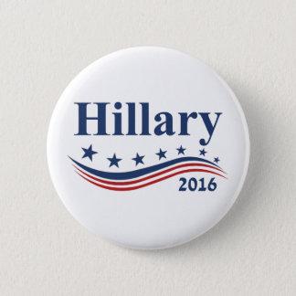 Hillary Clinton 2016 Runder Button 5,1 Cm