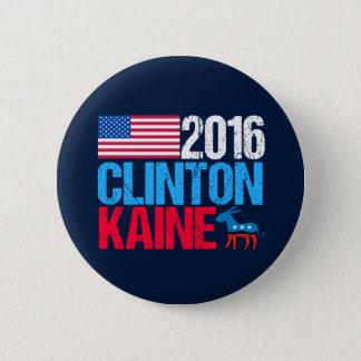 Hillary Clinton 2016 Tim Kaine Demokrat Runder Button 5,7 Cm
