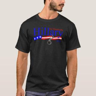 Hillary Clinton für Handschellen-Wahl-T-Shirt 2016 T-Shirt