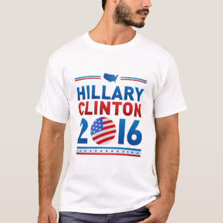 Hillary Clinton für Präsident Mens Basic T-Shirt